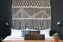 Macrame and weaving