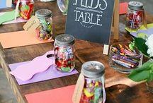 Présentation table enfants