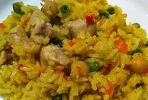 arroz com carne