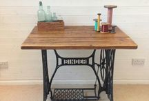 Fix up my Singer table / by Kat Howle