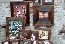 Foto rámiky zo starého dreva / Foto rámiky