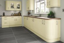 Cartmel Hand Painted Kitchen Range / Available in 8 Matt Colours.  Prices from £16.01.