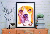 Forget the beatles we're the BEAGLES / #Beagle #dogs photos and #art