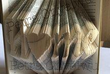 Bücher Kunst / Was man alles aus Büchern machen kann