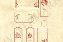 Vintage Clipart Scrapbooking