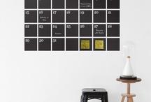calendars / by Silke Weber [ tillabox ]