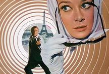 Audrey Hepburn - Movie posters