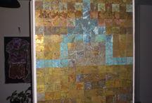 patina copper tiles / patina copper tiles