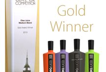 Awards of Olea Juice Olive Oil