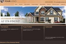 Website Builder for Exterior Siding Contractors / Professional Websites for Exterior Siding Contractors. Web Start Today helps you create a great impression on your prospects and customers with professional websites designed specifically for Architects. Our easy to use Website Builder allows you to build a well-constructed, effective online presence in no time at all. / by Web Start Today, Inc.