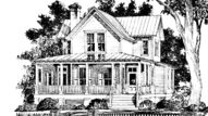 Favorite House Plans / My dream home has always been one with a BIG front porch and a large kitchen where the family can gather for wonderful meals and  lively discussions! Ever since I was a young girl I have been saving books on house plans and magazine clippings with home and interior designs in hopes of one day building my dream home.