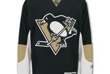 Pittsburgh Penguins - Official NHL Hockey Jerseys / We are the leading manufacturer of professional sports lettering & numbering and we have been selling officially licensed NHL jerseys and apparel via the internet since 1999. Visit: CoolHockey.com for more!