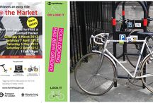 Protect your bike from thieves! /  View our cycle safety & storage solution products at: www.cyclehoop.com