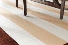 Casa: Onde se pisa... / Piso, chão, tapete, carpete...