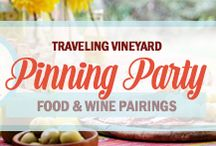 Food & Wine Pairings Pinning Party / Thanks to everyone who joined us for our Food & Wine Pairings pinning party on this board with our Traveling Vineyard consultants. Feel free to continue to update this board with your favorite food and wine pairings. You all are making us hungry! #TTVWinePairings  Check out more info here: http://bit.ly/NXt6Oo