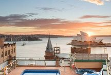 Holiday Inn Old Sydney / Your holiday in Sydney would not be complete without staying here in The Rocks, right near the Sydney Harbour Bridge and the Opera House! Oh, and did I mention the amazing roof top pool that has one of the best views in the world? Here's some of the best things to do in Sydney! Here is the best place to stay in Sydney!                 #wanderlust #travel #bucketlist