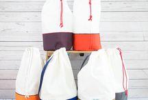 Sailcloth Duffle Bags