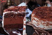 торты, пироженые