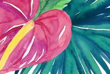 watercolor things