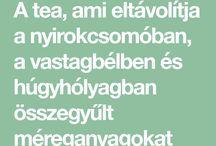 tea nyiroktisztitásra