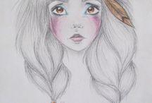 Dibujos a lápiz