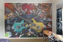 Custom Wallpaper Installations
