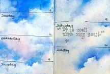 Небо Вдохновение