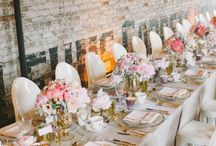Tablescapes / perfectly styled wedding tables