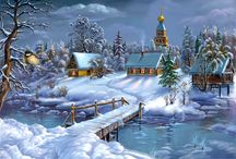 kış manzara