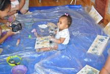 Baby Art / Baby art workshops and baby art creations.