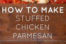 Stuffed chicken recipes