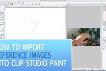 Clip Studio Paint Tutorials (Manga Studio)