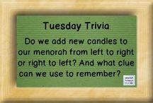 Play Jewish Trivia / Play our Jewish Trivia game with us. Learn fun tidbits about Jewish holidays, Israel, Jewish history, Jewish actors, Jewish sports figures, Hebrew, Yiddish, and more!