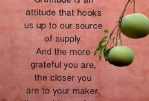 Positive Thinking / The Law of Attraction