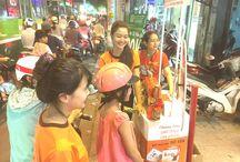Hoạt náo cửa hàng 182 Nguyễn Văn Nghi