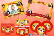 Kung Fu Panda Doğum Günü Ürünleri / Kung Fu Panda Kişiye Özel Parti Malzemeleri