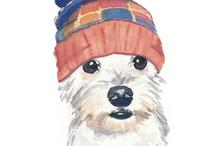 Dogs ilustration V●ᴥ●V