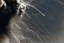 VOLCANIC SMOKE / volcanic smoke