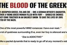 Book 1: In The Blood of the Greeks / In German-occupied Greece, Eva and Zoe -- one a German officer's daughter, the other a young Greek woman filled with fury -- should be enemies but they come together in an unlikely union to save the lives of Jews targeted by the Nazis.  They know one wrong move will put an end to their lives