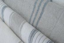 Striped Linen Decor