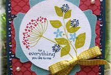 Handmade Cards- SU- Summer Silhouettes