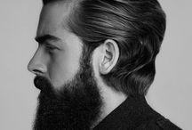 menn hår/skjegg