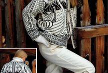 Strikking - Jeg har lagd / made by me - knitting