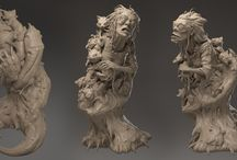 Sculpture/ZBrush