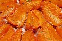Fruits d'été - Summer fruits / abricot pêche melon pastèque  apricot peach melon watermelon