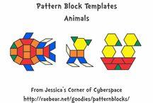 patterning blocks