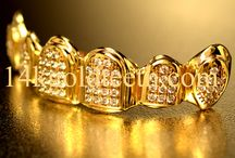 ICED Out Grillz / Visit us at 14kgoldteeth.com!!