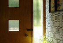 farm house:  doors