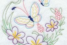 Machine embroidery designs