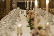 | centrepiece flowers for long tables |
